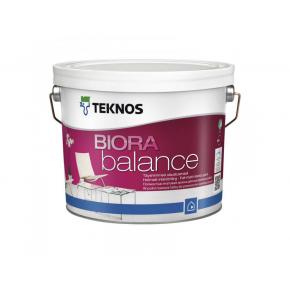 Матовая акрилатная краска для сухих помещений Teknos Biora Balance База3
