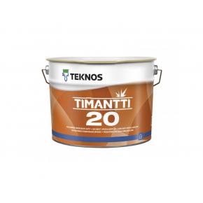 Водоразбавляемая акрилатная краска для стен и потолков Teknos Timantti 20 База3