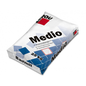 Клей для плитки Baumit Medio толстослойный для пола