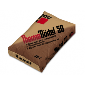 Кладочная смесь Baumit ThermoMortel 50 для керамических блоков теплоизоляционная