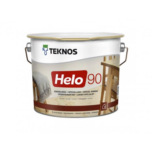 Уретано-алкидный лак для дерева Teknos Helo 90 глянцевый