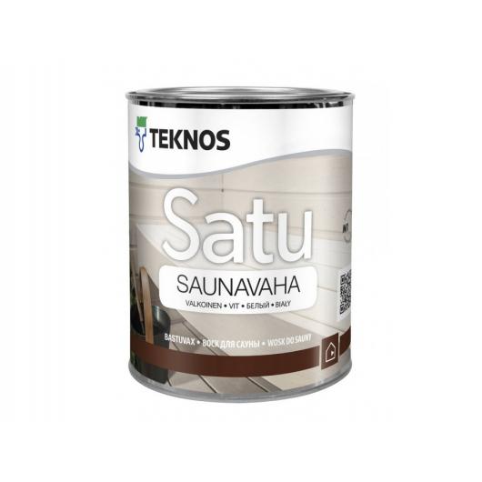 Воск для сауны Teknos Satu Saunavaha белый