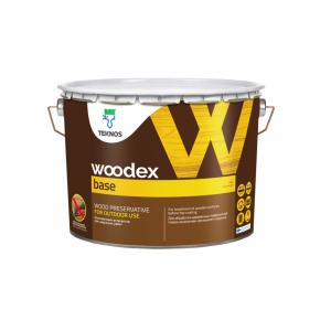 Органоразбавляемый грунтовочный антисептик для защиты древесины, содержащий масло Teknos Woodex Base