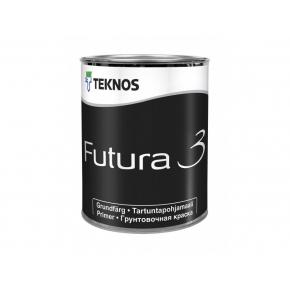 Матовая алкидная грунтовочная краска общего применения Teknos Futura 3 База 1