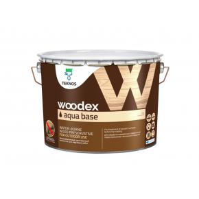 Водоразбавляемый грунтовочный антисептик для защиты древесины, содержащий масло Teknos Woodex Aqua Base