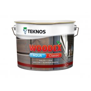 Водоразбавляемый антисептик на масляной основе для наружных работ Teknos Woodex Aqua Classic