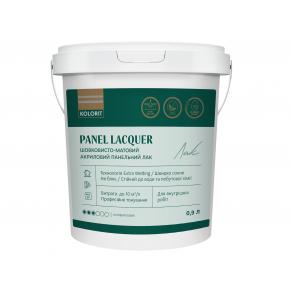 Лак панельный акриловый Kolorit Panel Lacquer шелковисто-матовый