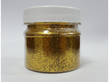 Глиттер GGO/0,4 мм (1/64) золотой Tricolor