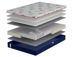 Ортопедический матрас Come-For Active Jump New Pocket Spring 120х190 односторонний - интернет-магазин tricolor.com.ua