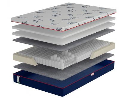 Ортопедический матрас Come-For Active Jump New Pocket Spring 150х200 односторонний - интернет-магазин tricolor.com.ua