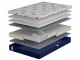 Ортопедический матрас Come-For Active Jump New Pocket Spring 150х200 односторонний
