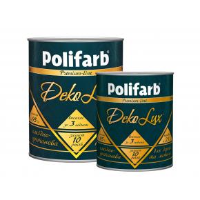 Алкидно-уретановая эмаль DekoLux для дерева и металла Polifarb глянцевая зеленая - изображение 3 - интернет-магазин tricolor.com.ua