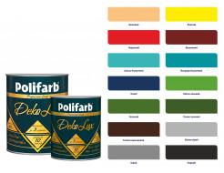 Алкидно-уретановая эмаль DekoLux для дерева и металла Polifarb глянцевая ярко-голубая - изображение 3 - интернет-магазин tricolor.com.ua