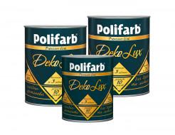 Алкидно-уретановая эмаль DekoLux для дерева и металла Polifarb глянцевая красная - изображение 4 - интернет-магазин tricolor.com.ua