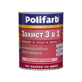 Антикоррозионная грунт-эмаль на железо и цинк
