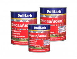 Профессиональная краска для фасадов зданий и сооружений Polifarb Фасадлюкс матовая белая - изображение 2 - интернет-магазин tricolor.com.ua