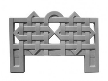 Форма оградки №3 АБС MF 100х70х4 см