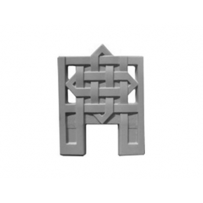 Форма оградки №4 АБС MF 55х70х4 см