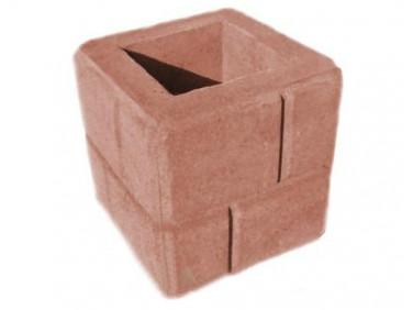 Форма Столб наборной Кирпич1 Стеклопластик MF 30х30х31