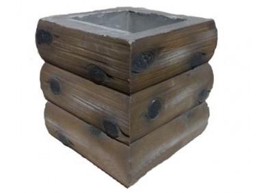 Форма Столб наборной Брус2 Стеклопластик MF 29,5х29,5х24,5