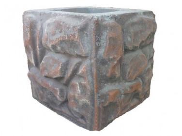 Форма Столб наборной Скала Стеклопластик MF 23х23х23,5