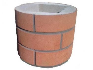 Форма Столб наборной Круглый1 Стеклопластик MF 25х25х30