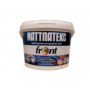 Краска латексная Матлатекс Front матовая белая