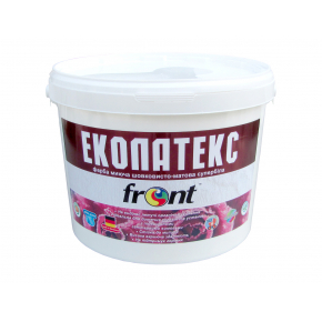 Краска Эколатекс Front матовая белая