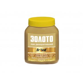 Лак акриловый декоративный Front золото