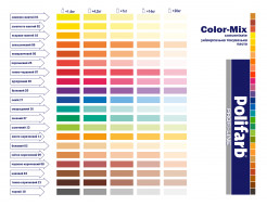 Универсальная колеровочная паста Сolor-Mix Concentrate 17 Синяя - изображение 3 - интернет-магазин tricolor.com.ua