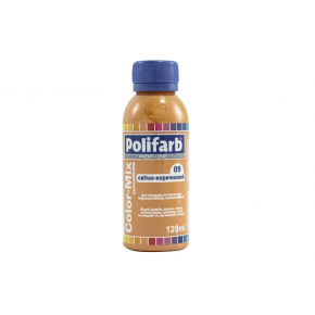 Универсальная колеровочная паста Polifarb Сolor-Mix Concentrate 09 Светло-коричневая