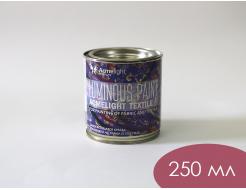 Краска люминесцентная AcmeLight для ткани синяя - изображение 3 - интернет-магазин tricolor.com.ua