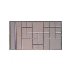 Форма плиты противоусадочной №2-1 АБС BF 55х30х5 добавочная