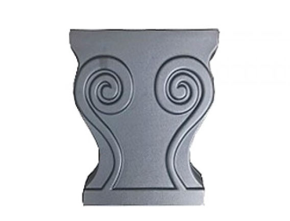 Формы для изготовления скамейки из бетона