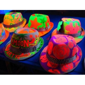 Краска флуоресцентная AcmeLight Fluorescent Textile для ткани розовая