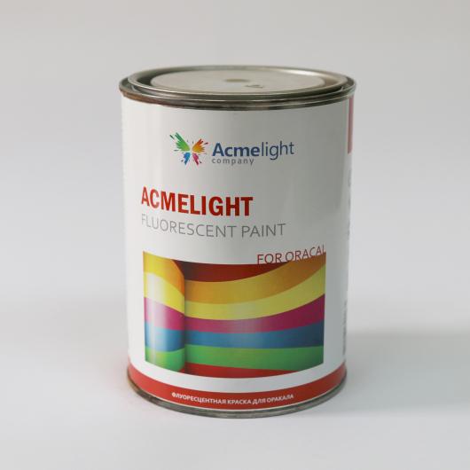 Краска флуоресцентная AcmeLight Fluorescent Oracal для оракала желтая - изображение 4 - интернет-магазин tricolor.com.ua