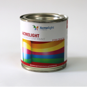 Краска флуоресцентная AcmeLight Fluorescent Oracal для оракала белая - изображение 2 - интернет-магазин tricolor.com.ua