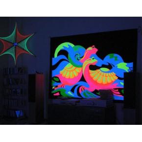 Краска флуоресцентная AcmeLight Fluorescent Oracal для оракала оранжевая