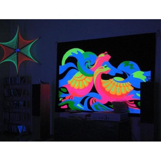 Краска флуоресцентная AcmeLight Fluorescent Oracal для оракала оранжевая - интернет-магазин tricolor.com.ua