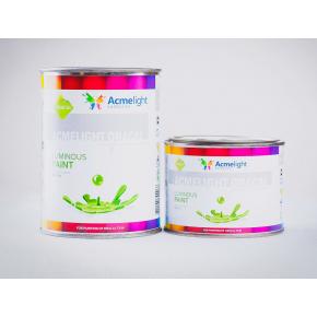 Краска люминесцентная AcmeLight Oracal для шелкотрафаретной печати на твердой поверхности синяя - изображение 2 - интернет-магазин tricolor.com.ua