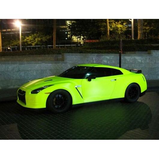 Краска флуоресцентная AcmeLight Fluorescent Metal 2K для металла желтая