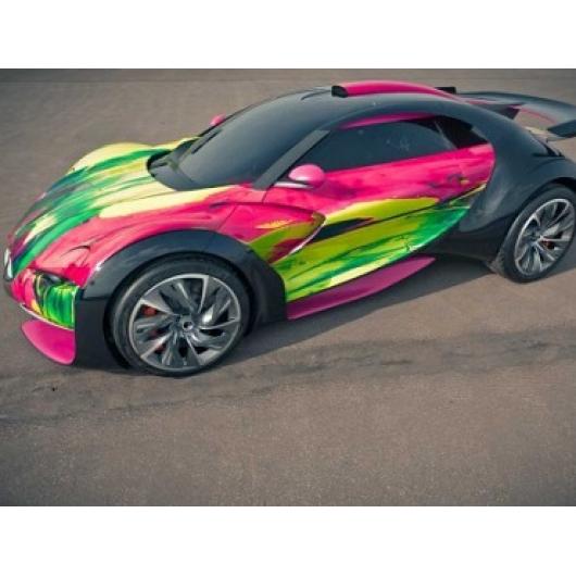 Краска флуоресцентная AcmeLight Fluorescent Metal 2K для металла розовая - изображение 2 - интернет-магазин tricolor.com.ua