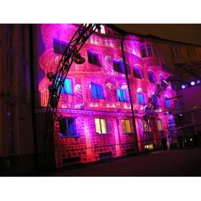 Краска люминесцентная AcmeLight Facade для фасада розовая