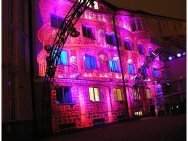 Краска люминесцентная AcmeLight для фасада розовая
