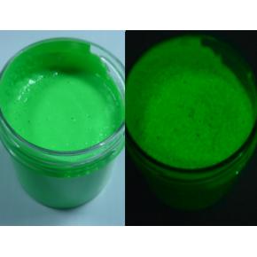 Краска люминесцентная AcmeLight Facade для фасада зеленая