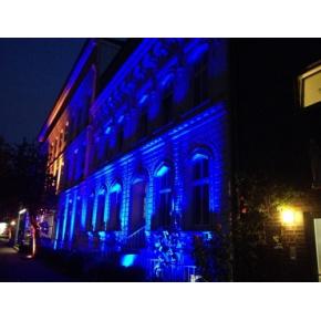 Краска люминесцентная AcmeLight Facade для фасада синяя