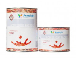 Краска люминесцентная AcmeLight для фасада белая - изображение 2 - интернет-магазин tricolor.com.ua