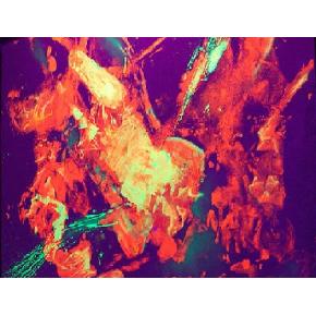 Краска люминесцентная AcmeLight Interior для стен оранжевая - интернет-магазин tricolor.com.ua