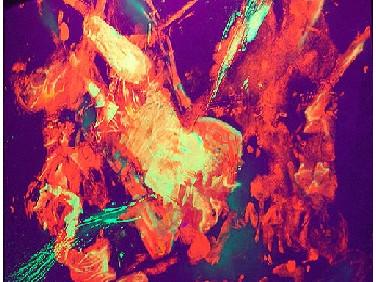 Краска люминесцентная AcmeLight для интерьера оранжевая
