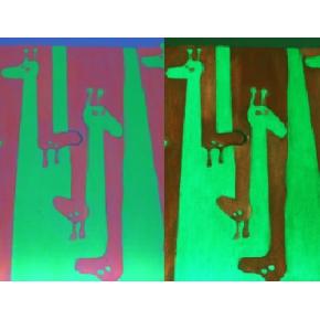 Краска люминесцентная AcmeLight для интерьера зеленая - интернет-магазин tricolor.com.ua